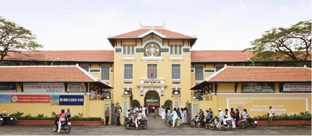 A la decouverte d'une ecole centenaire a Ho Chi Minh-Ville hinh anh 1