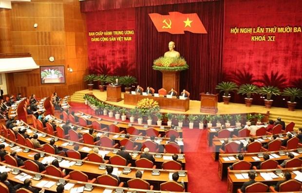 13eme Plenum du Comite central du Parti : les rapports importants en debat hinh anh 1