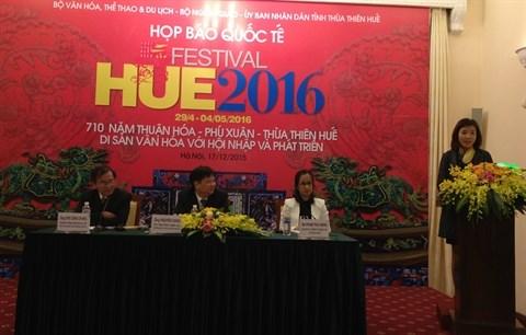 Le festival de Hue 2016 devoile ses nouveautes hinh anh 1