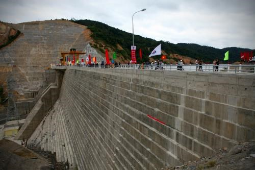 Inauguration d'une centrale hydroelectrique de 150 MW hinh anh 1