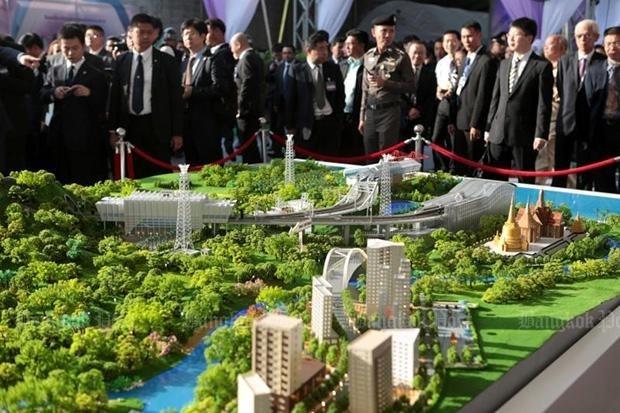 La Thailande et la Chine lancent les travaux d'un projet ferroviaire hinh anh 1