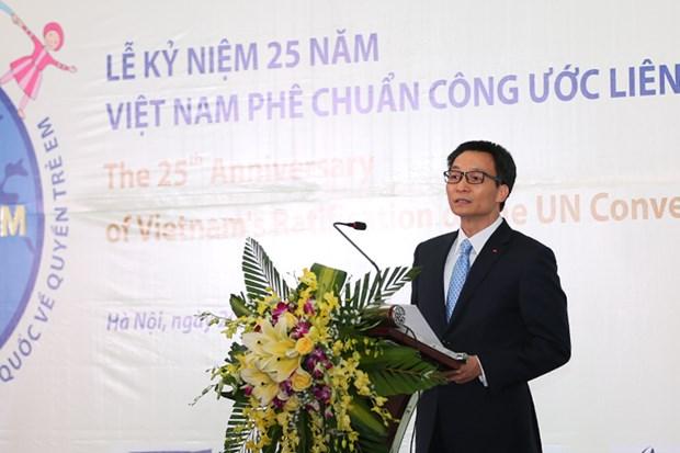 Le Vietnam œuvre pour construire un pays digne des enfants hinh anh 1