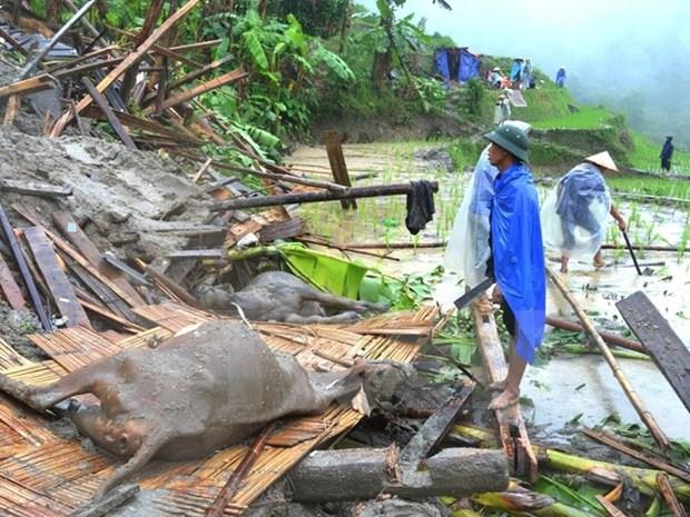 Le Vietnam classe au 7e rang en termes de degats dus au changement climatique hinh anh 1