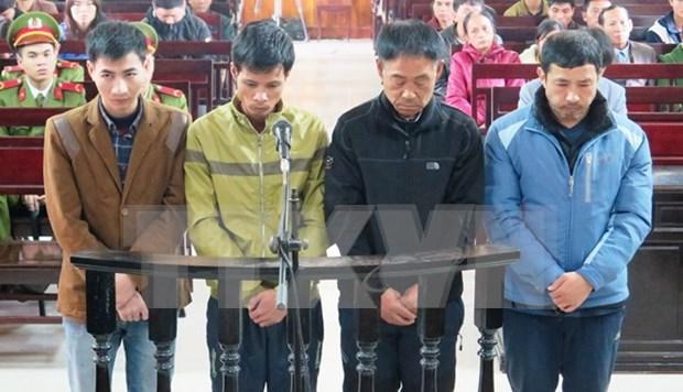 Echafaudage effondre a Ha Tinh: 144 mois de prison pour 4 accuses hinh anh 1