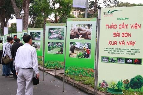 Expo : le Jardin botanique et zoologique de Saigon d'antan et d'aujourd'hui hinh anh 1