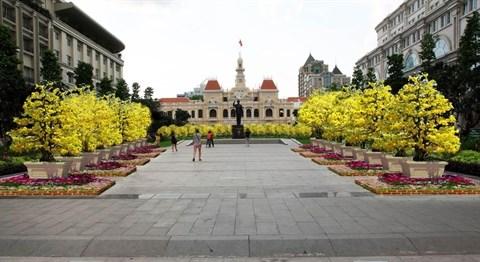 La rue florale Nguyen Hue au Tet du Singe hinh anh 2