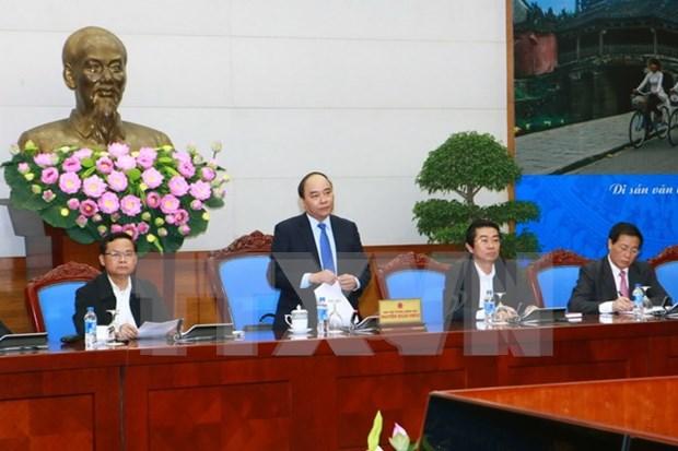 Reunion sur la realisation du bilan des 10 ans d'application de la loi anti-corruption hinh anh 1