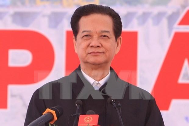 Mise en service d'un turboalternateur de la centrale hydroelectrique de Lai Chau hinh anh 1