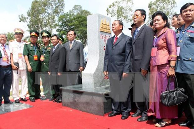 """Vietnam-Cambodge: La demarcation frontaliere """"essentiellement achevee"""" hinh anh 2"""