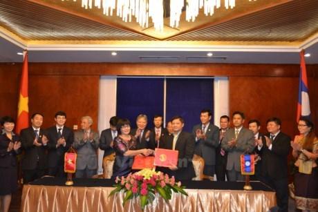 Vietnam et Laos renforcent leur cooperation judiciaire hinh anh 1
