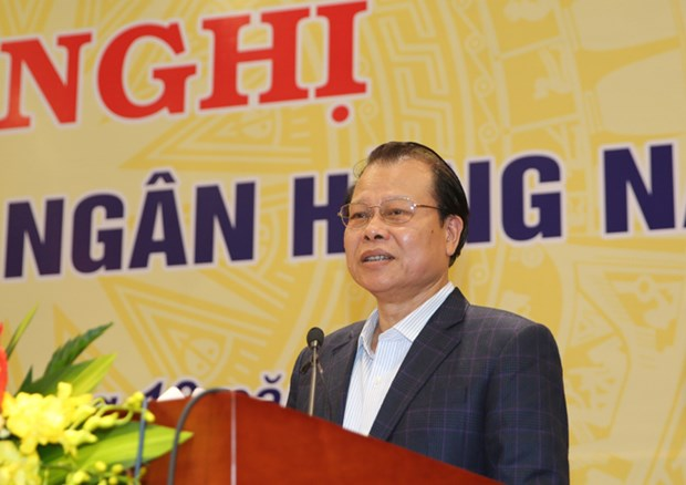 Le vice-PM Vu Van Ninh demande a la BEV de mieux gerer la politique monetaire hinh anh 1