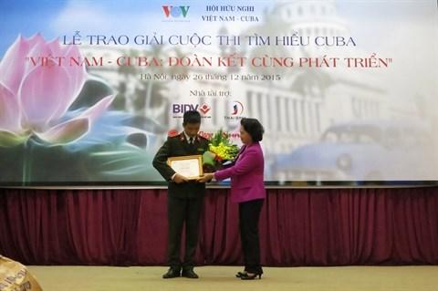Le concours sur les relations Vietnam - Cuba rend son verdict hinh anh 1