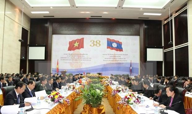 38e session du Comite intergouvernemental sur la cooperation Vietnam-Laos-Vietnam hinh anh 1