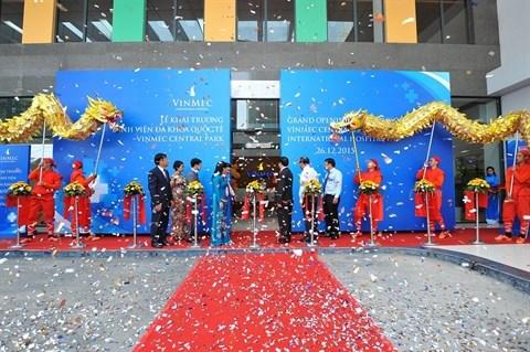 Inauguration de la 3e polyclinique de Vingroup a HCM-Ville hinh anh 1