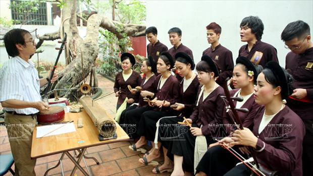Preservation de la musique traditionnelle hinh anh 1