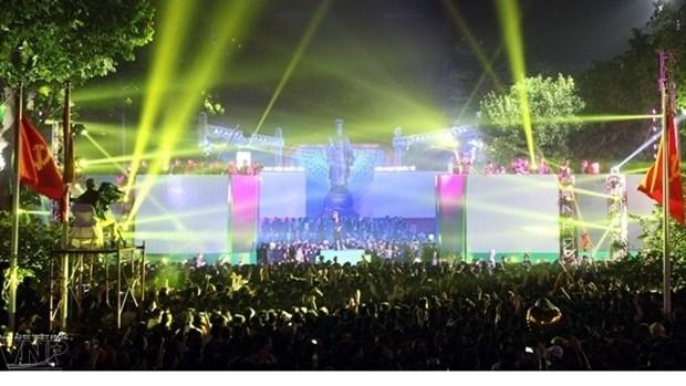 Plein feu sur les spectacles du Nouvel An 2016 a Hanoi hinh anh 1