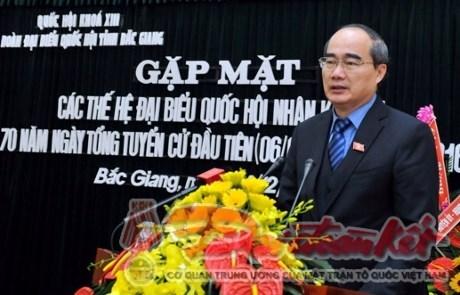 70 ans des elections legislatives : rencontre avec d'anciens deputes de Ha Bac-Bac Giang hinh anh 1