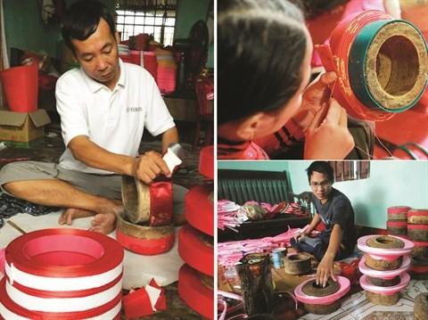 Giap Nhat, le village des turbans traditionnels hinh anh 1