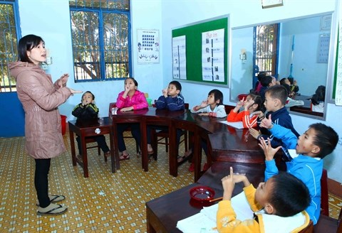 Faciliter l'integration scolaire des enfants handicapes hinh anh 1