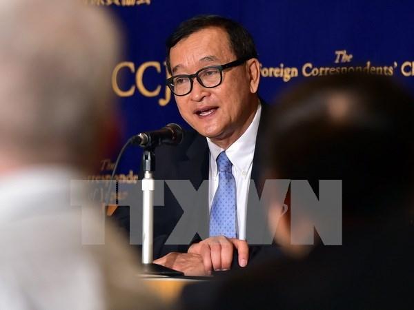Cambodge : mandat d'arret contre le chef de l'opposition hinh anh 1
