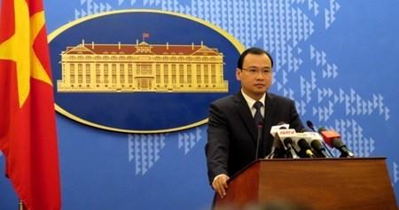 Le Vietnam demande de mettre fin aux actes de violation de sa souverainete sur Truong Sa hinh anh 1