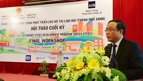 Conference sur le developpement urbain durable hinh anh 1