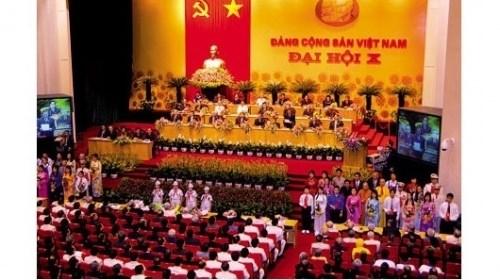 Le 10e Congres national du Parti Communiste du Vietnam hinh anh 1