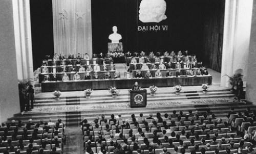 Le 6e Congres national du Parti Communiste du Vietnam hinh anh 1