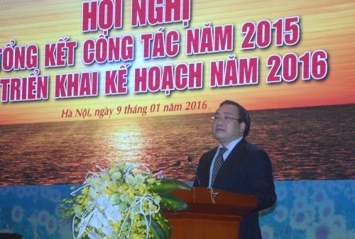 PVN doit se concentrer a l'exploration et a l'exploitation en 2016 hinh anh 1