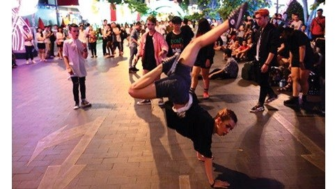Festival d'arts de la rue a Ho Chi Minh-Ville hinh anh 1