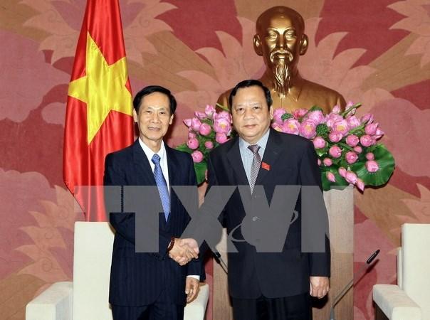 Renforcement des relations parlementaires Vietnam-Laos hinh anh 1