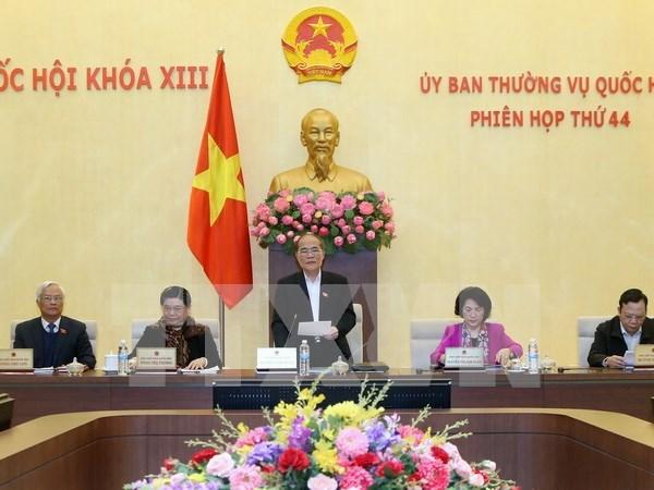 Ouverture de la 44e reunion du Comite permanent de l'AN hinh anh 1