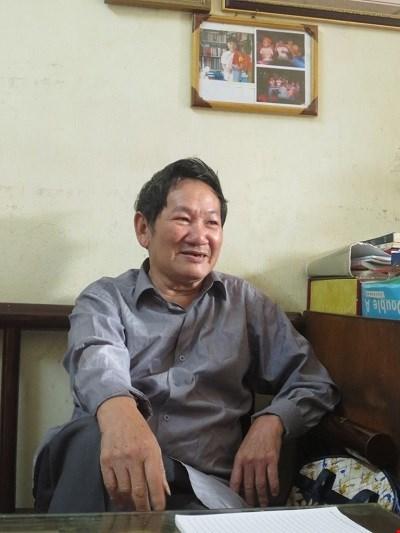 Vu Kiem Ninh, l'homme qui preserve les portes des villages a Hanoi hinh anh 1
