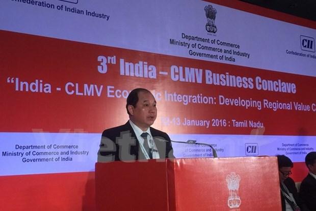 Le Vietnam a la conference de cooperation commerciale Inde-CLMV hinh anh 1