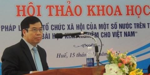 Consultations sur les stipulations concernant la liberte de reunion et d'association hinh anh 1