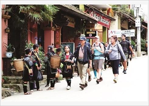Sa Pa dans le cœur des touristes etrangers hinh anh 3
