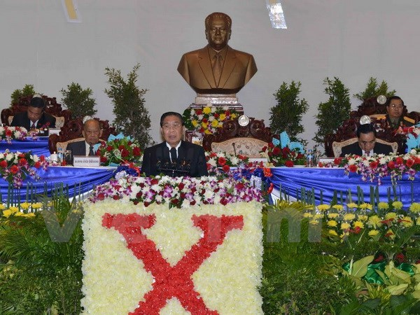 Un virage marquant le fort developpement du Parti populaire revolutionnaire du Laos hinh anh 1