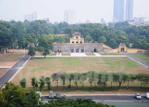 L'Australie aide le Vietnam a preserver la citadelle royale de Thang Long hinh anh 1