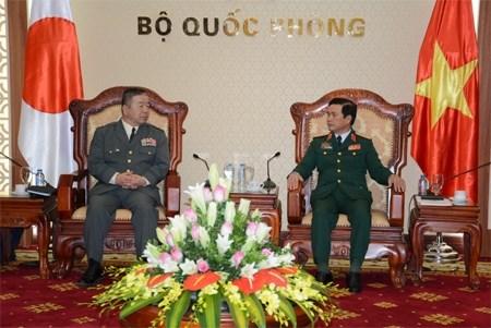Promotion de la cooperation Vietnam-Japon dans la defense hinh anh 1