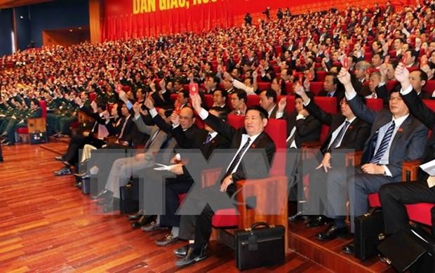 Session preparatoire du 12e Congres national du Parti hinh anh 1