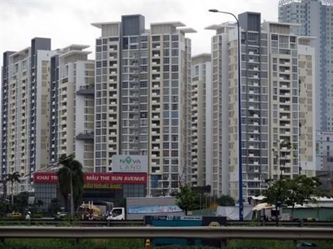 Tableau de l'immobilier de Ho Chi Minh-Ville en 2015 hinh anh 1