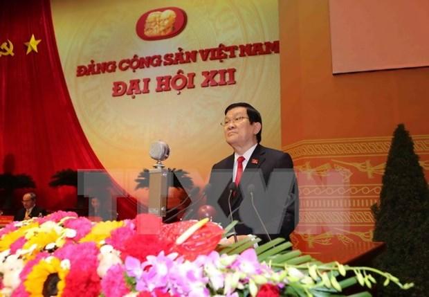 Le 12e Congres national du PCV debute a Hanoi hinh anh 1