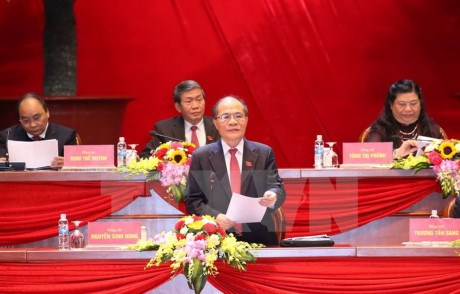 Le 12e congres du Parti : communique de presse sur le troisieme jour de travail hinh anh 1