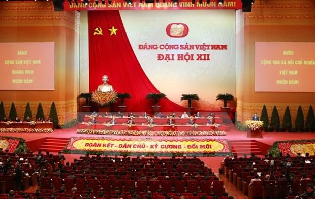 Le 12e congres du PCV conclut sa 4e journee de travail hinh anh 1