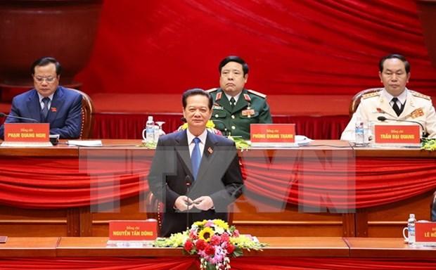Congres national du PCV: la restructuration economique liee a l'edification de la Nouvelle ruralite hinh anh 1