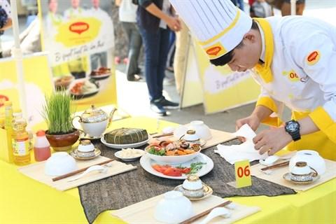 Des lyceens enthousiastes pour un concours de cuisine hinh anh 1