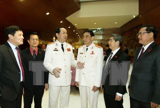 XIIe Congres du PCV: Edifier le Parti - une tache permanente hinh anh 1
