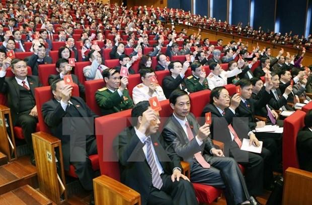 Les Vietnamiens en Algerie et en R. tcheque saluent le congres du Parti hinh anh 1