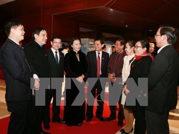 Le peuple a pleinement confiance en le nouveau Comite central du Parti hinh anh 2