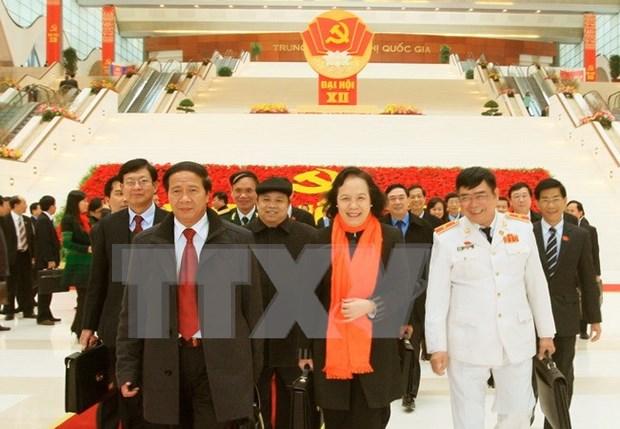 Le peuple a pleinement confiance en le nouveau Comite central du Parti hinh anh 1